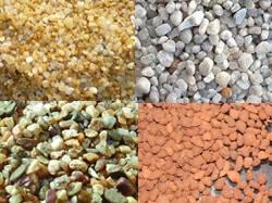 Diversos tipos de areia, que são mais indicado para o seu aquário