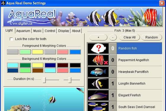 Aqua Real 2 programa para tela do computador